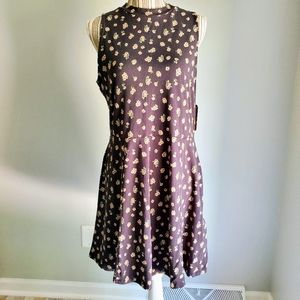 Vans Tizzy Floral Tank Dress XL